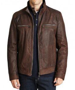 Agent of Shield Brett Dalton Grant Ward Leather Jacket
