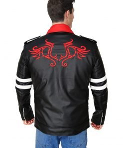 Alex Mercer Leather Jacket for Men