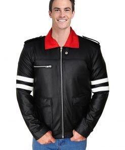 Alex Mercer Black Leather Jacket for Men