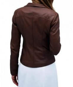 Audrey Marie TV Series Leather Jacket