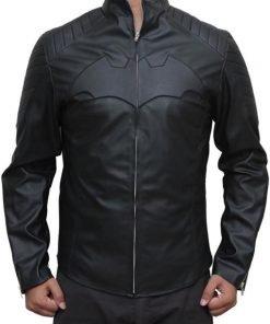 Batman Logo Leather Jacket
