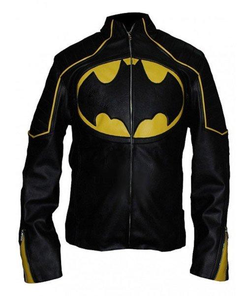Black Batman William Leather Jacket