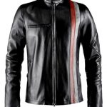 X-Men Cylops Mens Leather Jacket