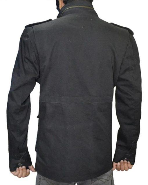 Black Daredevil Cotton Jacket
