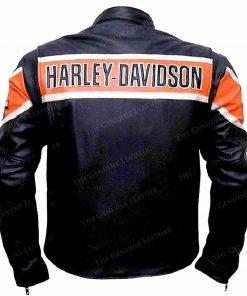 Black Davidson Leather Jacket