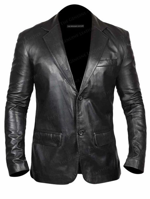Blingsoul Men Distressed Leather Coats