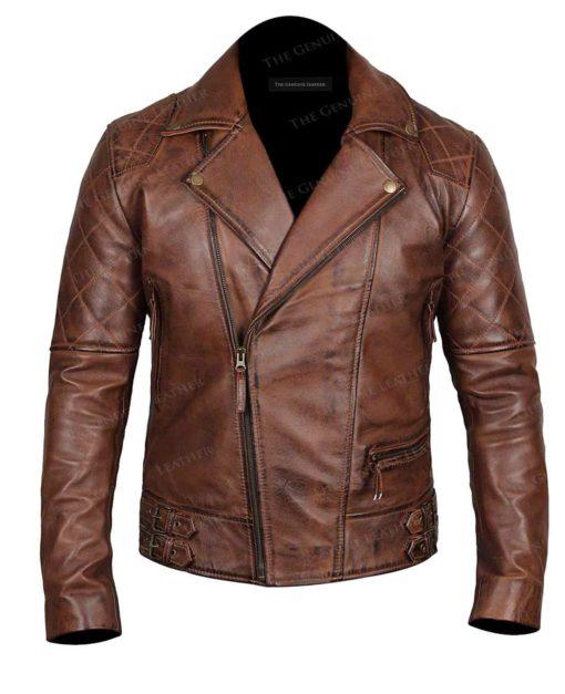 Brown Brando Leather Jacket
