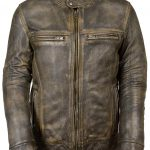 Brown Milwaukee Leather Jacket