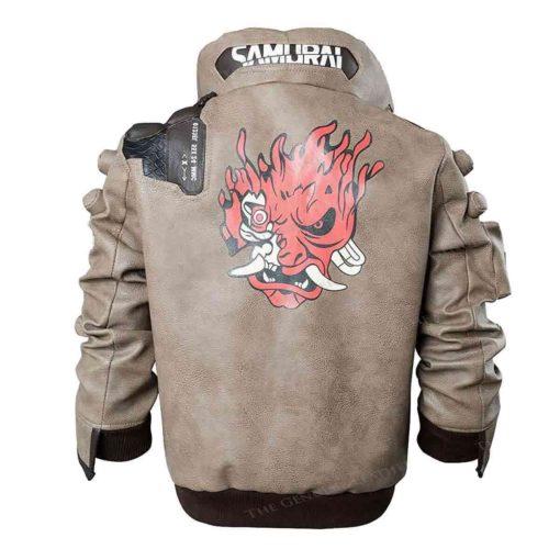 Brown Gaming Leather Jacket