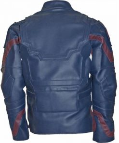 Chris Evans Captain America Leather Jacket