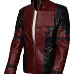 Dead Pool Mens Leather Jacket