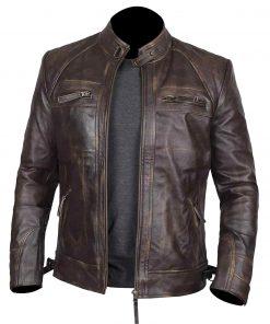 Claude-Brown-Biker-Leather-Jacket