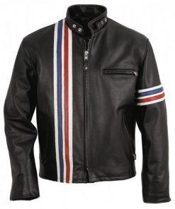 Captain America Easy Rider Peter Fonda Leather Jacket
