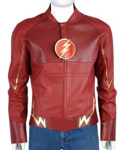 Flash Barry Leather Jacket