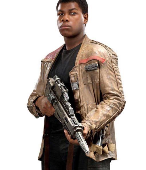 Light Brown Finn star Wars Leather Jacket
