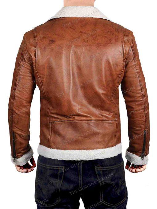 Light Brown Leather Jacket