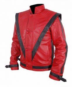 Michael Jackson Thriller Leather Jacket