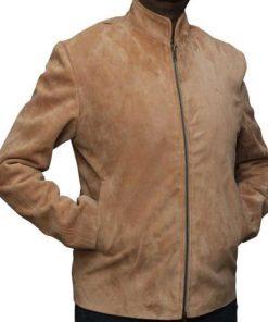 Morocco James Bond Mens Leather Jacket