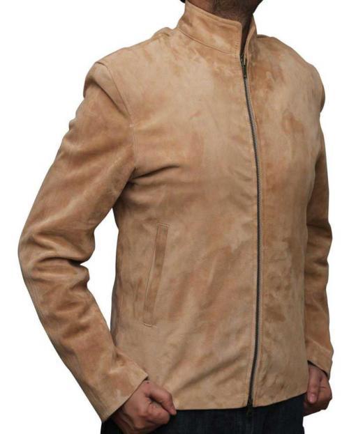 James Bond Leather Jacket for Men
