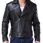 Nicolas Johnny Blaze Leather Jacket