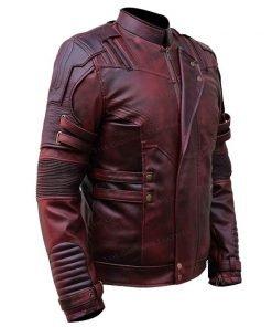 Reddish Leather Jacket for Men