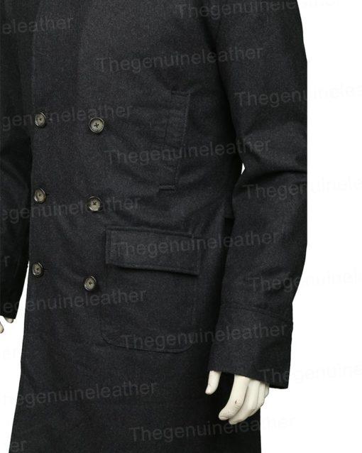 Sherlock Holmes Grey Trench Coat
