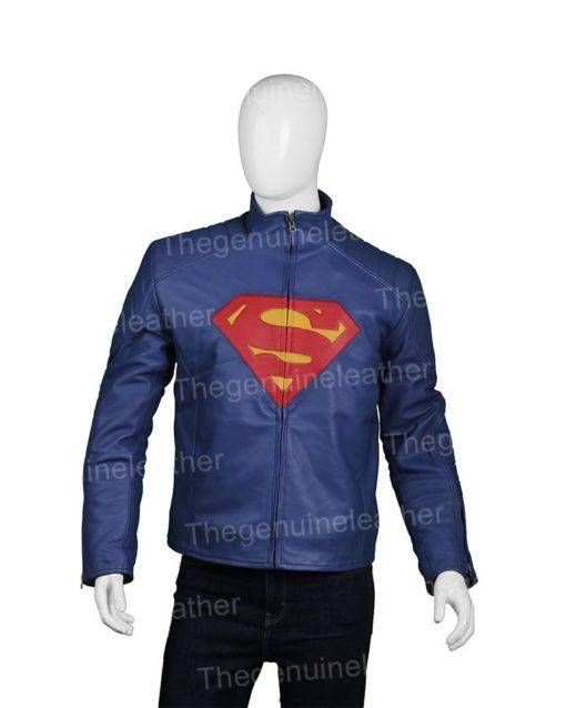 Superman Man Of Steel Henry Cavill Leather Jacket