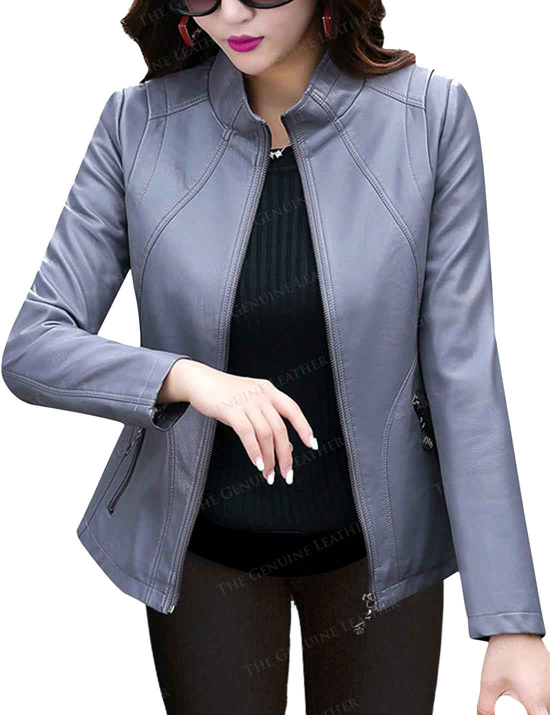 cozy fresh famous brand new arrive Womens Grey Jacket   Best Women Party/ Event Outfits