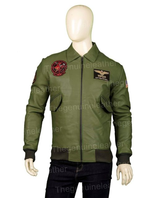 Top Gun Green Jacket