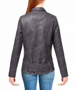 Motorcycle Womens Leather Jacket