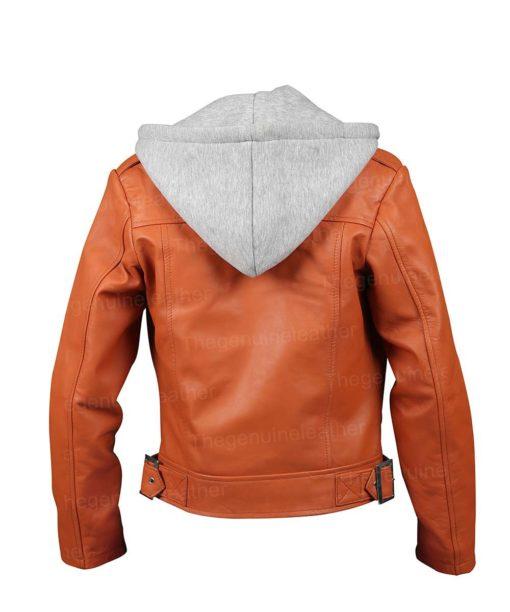 Women Orange Jacket