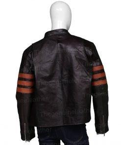 X-Men Wolverine Jackman Leather Jacket