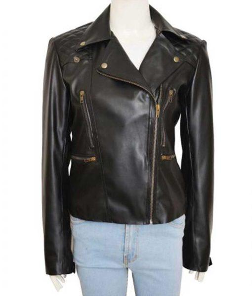 Lauren German Lucifer Chloe Decker Leather Jacket
