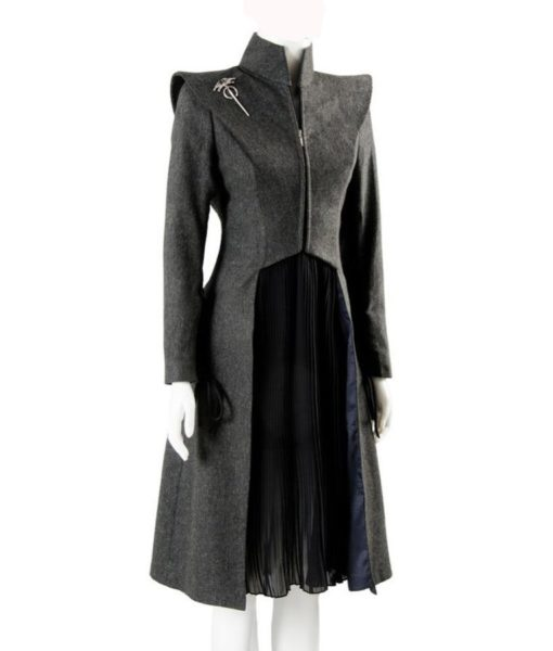Emilia Clarke Game Of Thrones Coat