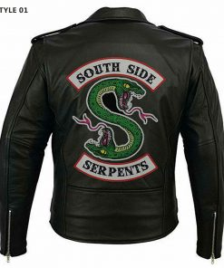 Southside Serpents Leather Jacket Style 01