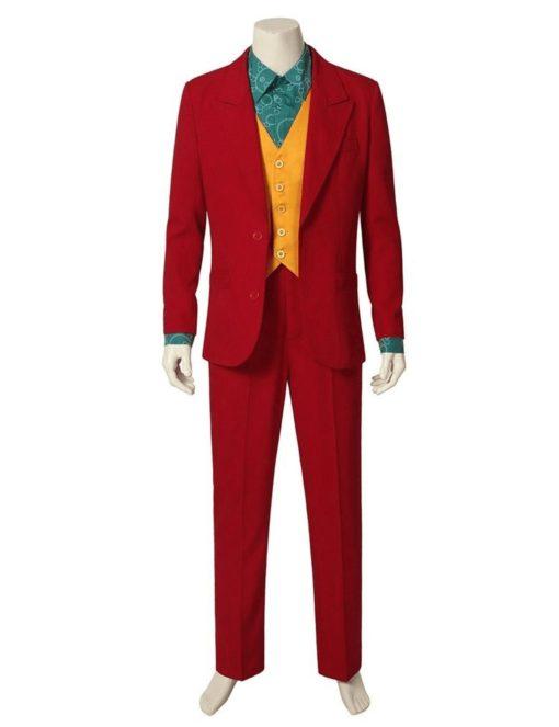 Joker Joaquin Phoenix Red Coat