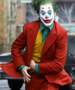 Red Joker Coat Suit