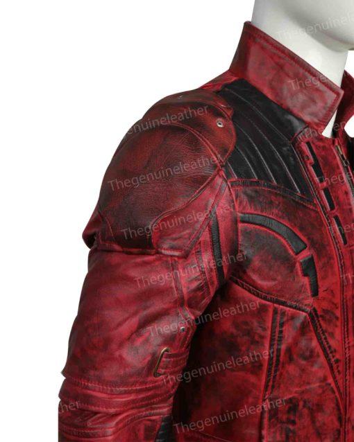 Star Lord 2 Chris Pratt Red Jacket