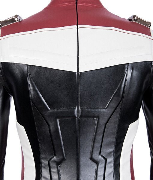 Endgame White Quantum Realm Jacket