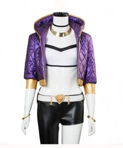Akali League Of Legends Quilted Jacket