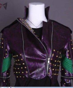 Descendants Costumes Mal Leather Jacket