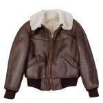 Fur B-26 Shearling Leather Jacket