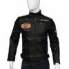 Harley Davidson Mens Command Black Leather Jacket