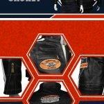 Harley Davidson Mens Command Leather Jacket
