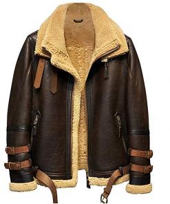 Mens B3 Shearling Flight Jacket