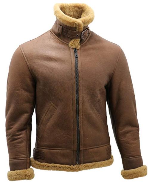 Men's B3 Shearling Flying Aviator Jacket