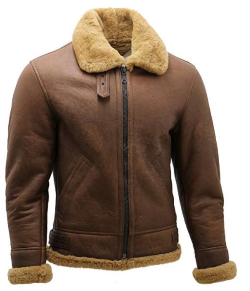 Men's B3 Shearling Leather Aviator Jacket