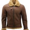 Men's B3 Shearling Leather Flying Aviator Jacket