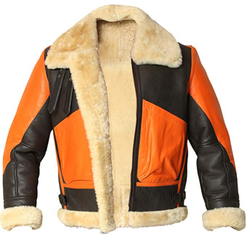 Mens B3 Shearling Sheepskin Jacket