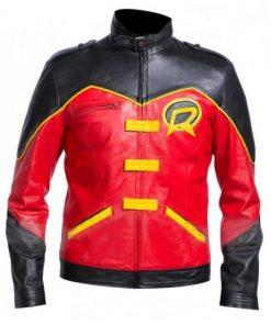 Red Robin Tim Drake Batman Jacket